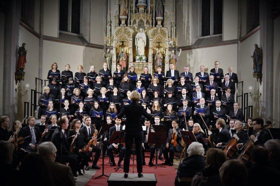 Der Chor Weinhaus in einer Kirche