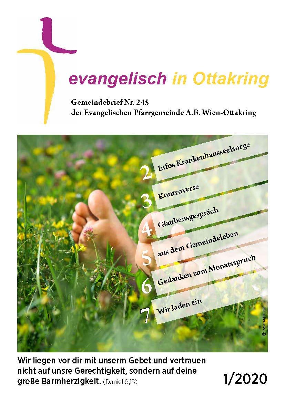 Cover Gemeindebrief Nr. 254 von Ottakring